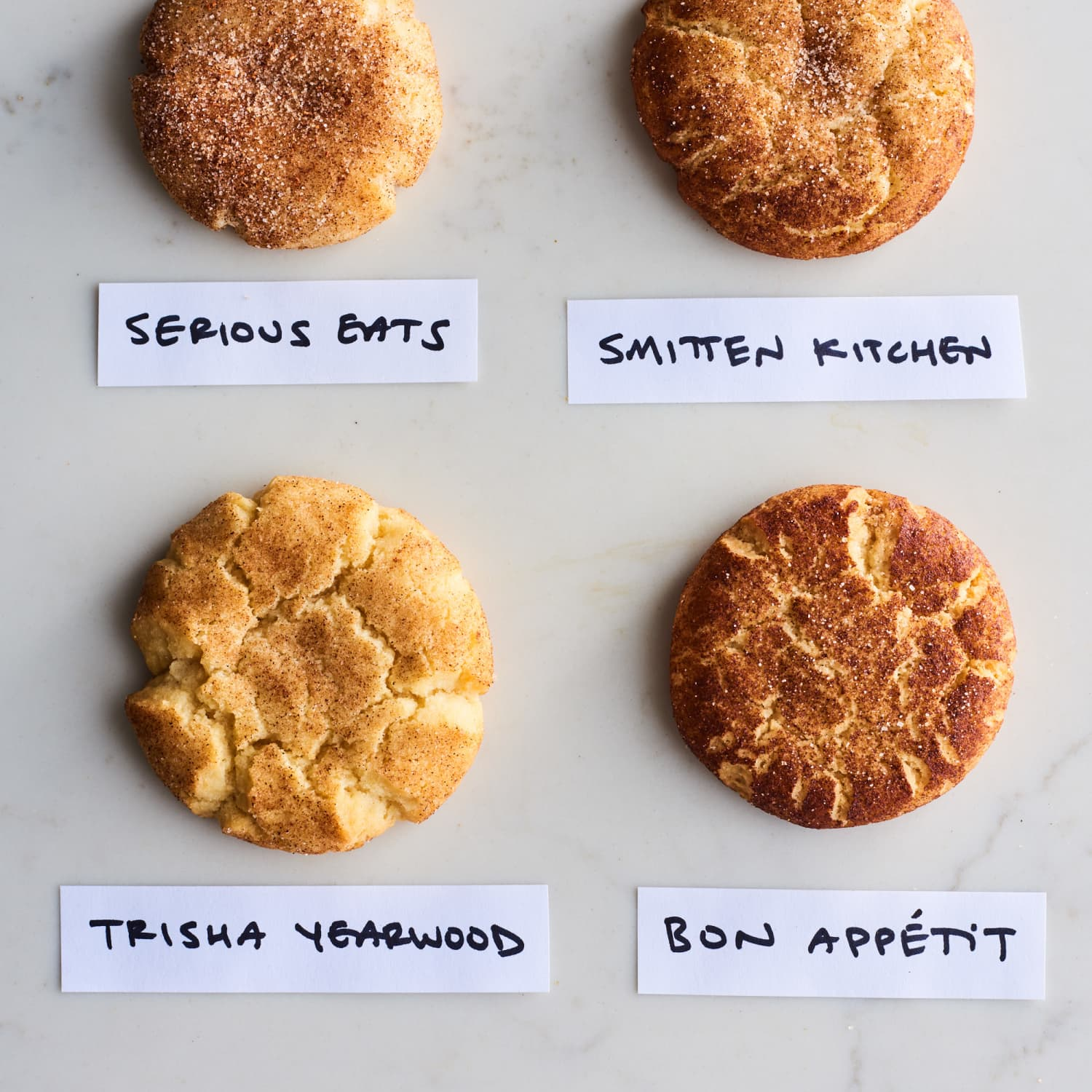 We Tested 4 Popular Snickerdoodle Recipes Here S How They Compared Kitchn