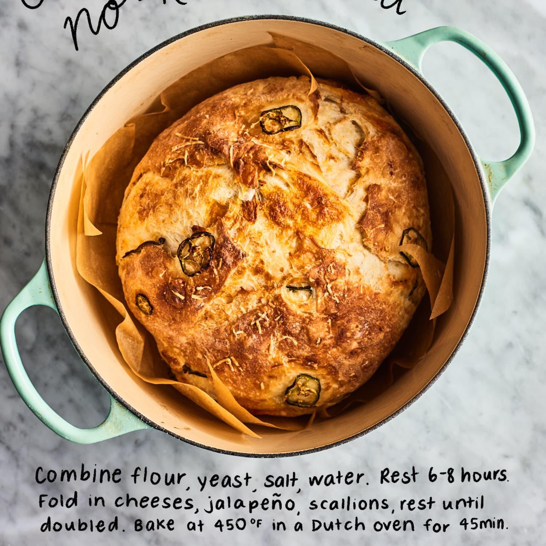 5 Easy No Knead Bread Recipes Kitchn