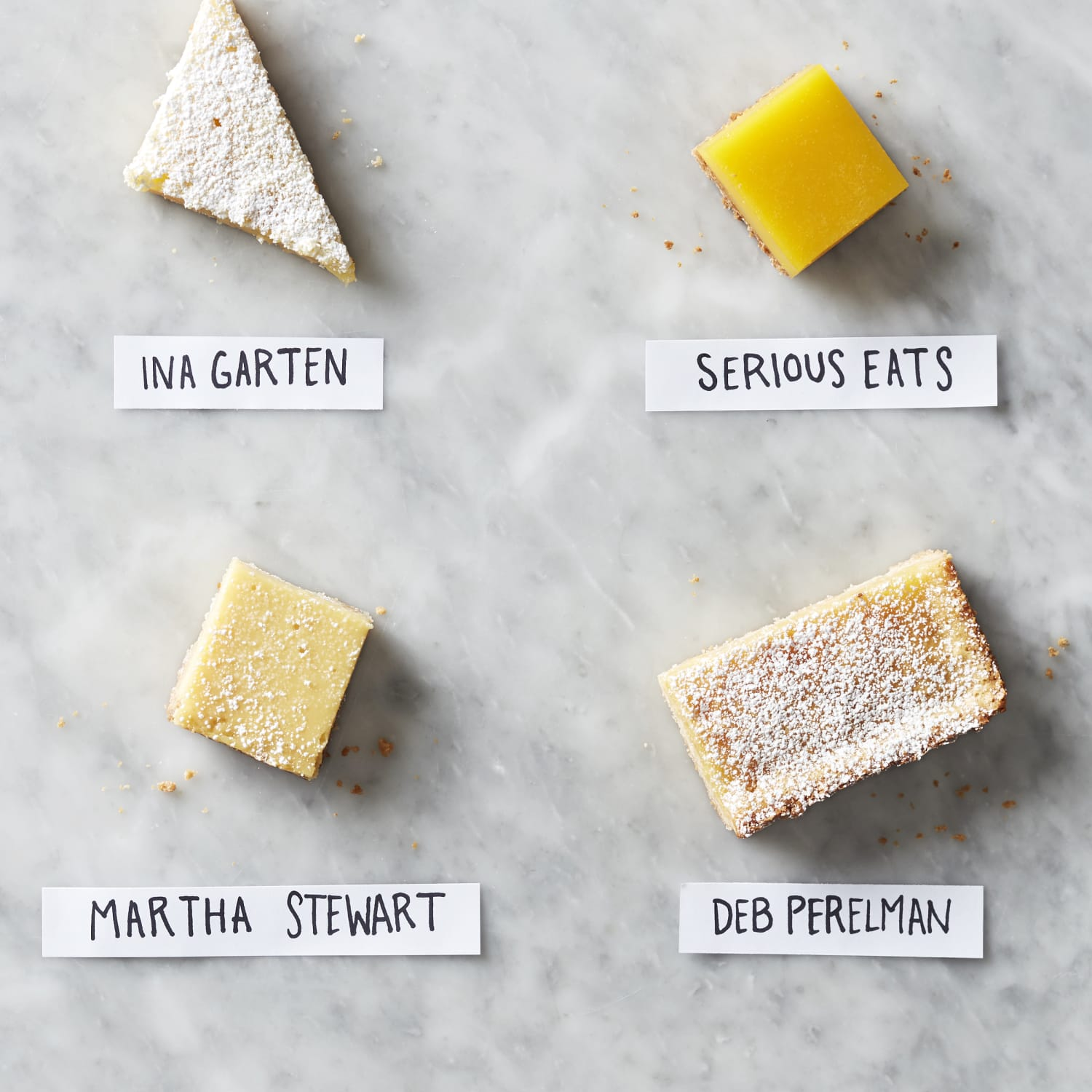 I Tried Four Popular Lemon Bar Recipes and Found the Best One   Kitchn