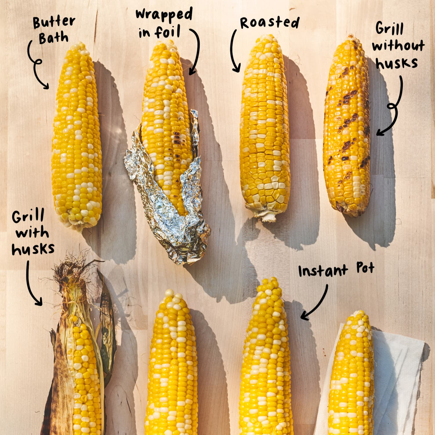 We Tried 25 Methods for Cooking Corn on the Cob and Found a Clear