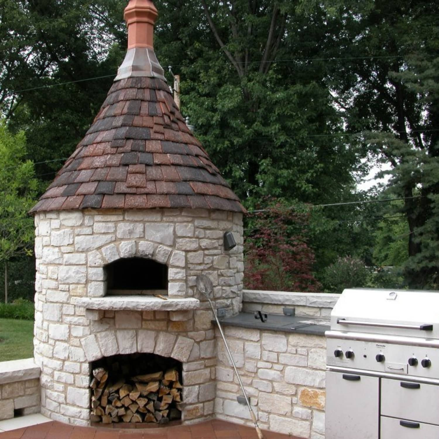 9 Dreamy Backyard Pizza Ovens We Wish Were Ours Kitchn