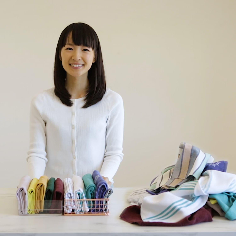 Marie Kondo S Smart Tips For Organizing Cloth Napkins Kitchn
