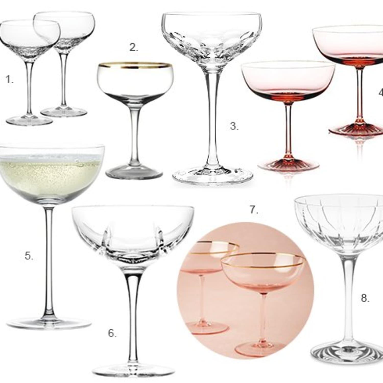 8 Elegant Champagne Coupe Glasses Kitchn