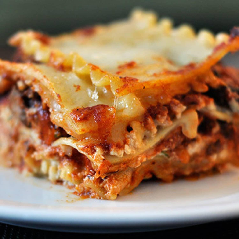 How To Layer And Make Lasagna Kitchn