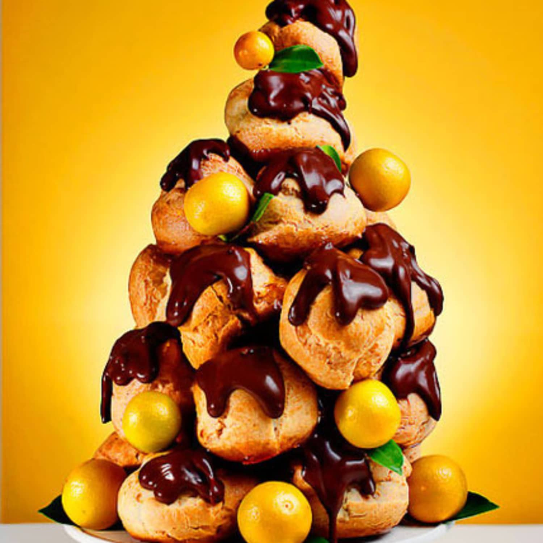 Christmas Croquembouche Kitchn
