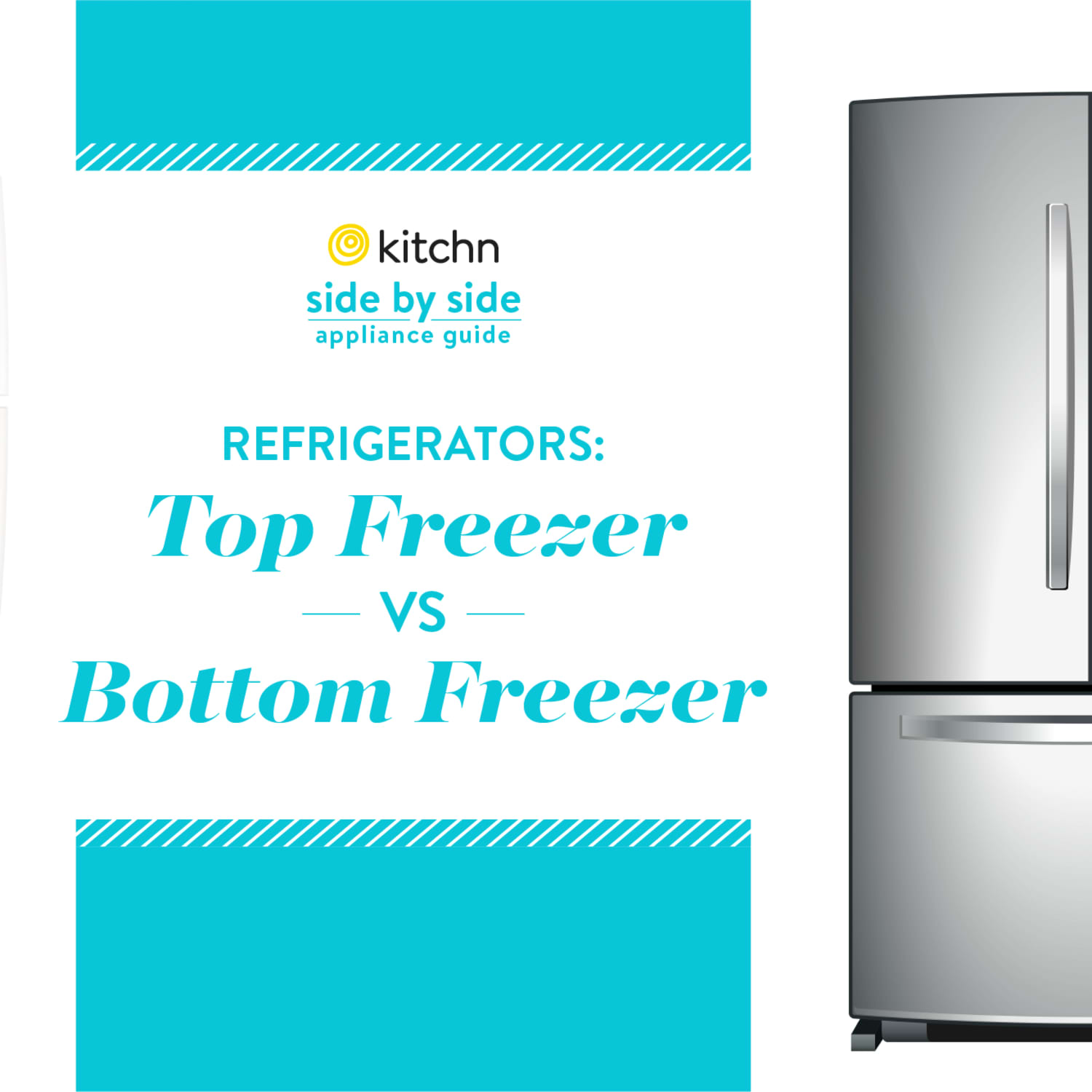 What S Better A Top Freezer Or A Bottom Freezer Kitchn