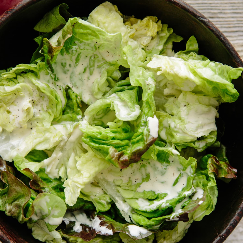 Two Minute Creamy Salad Dressing Recipe Kitchn