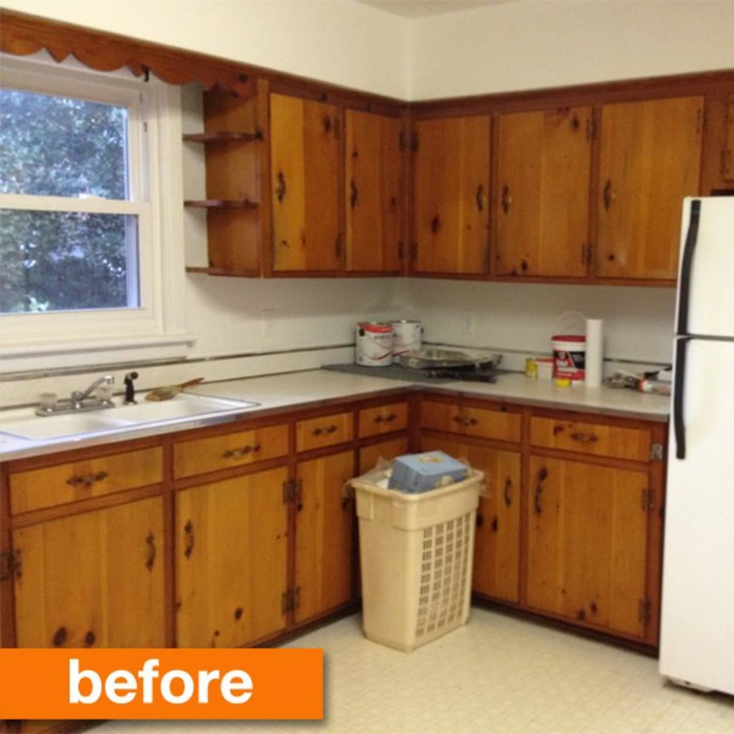 Before After A 1950s Kitchen Gets A Modern Diy Makeover Apartment Therapy