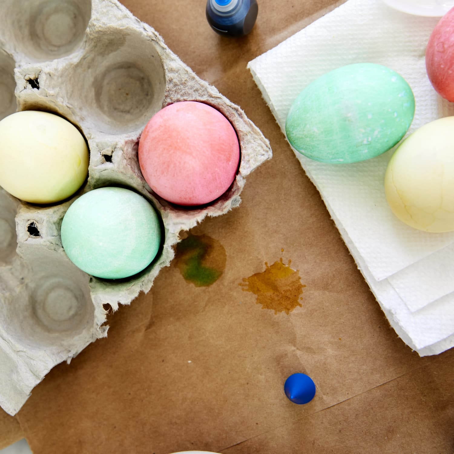 How To Dye Easter Eggs With Food Coloring Kitchn
