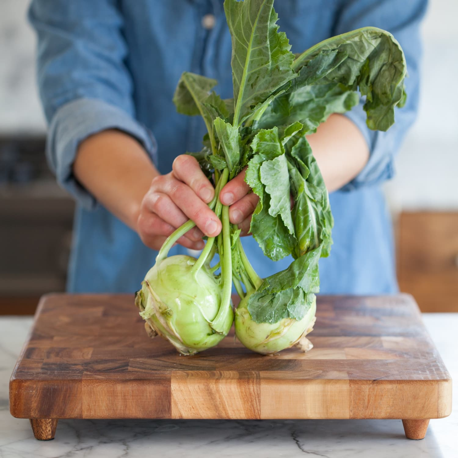 How To Cut Up Kohlrabi Kitchn