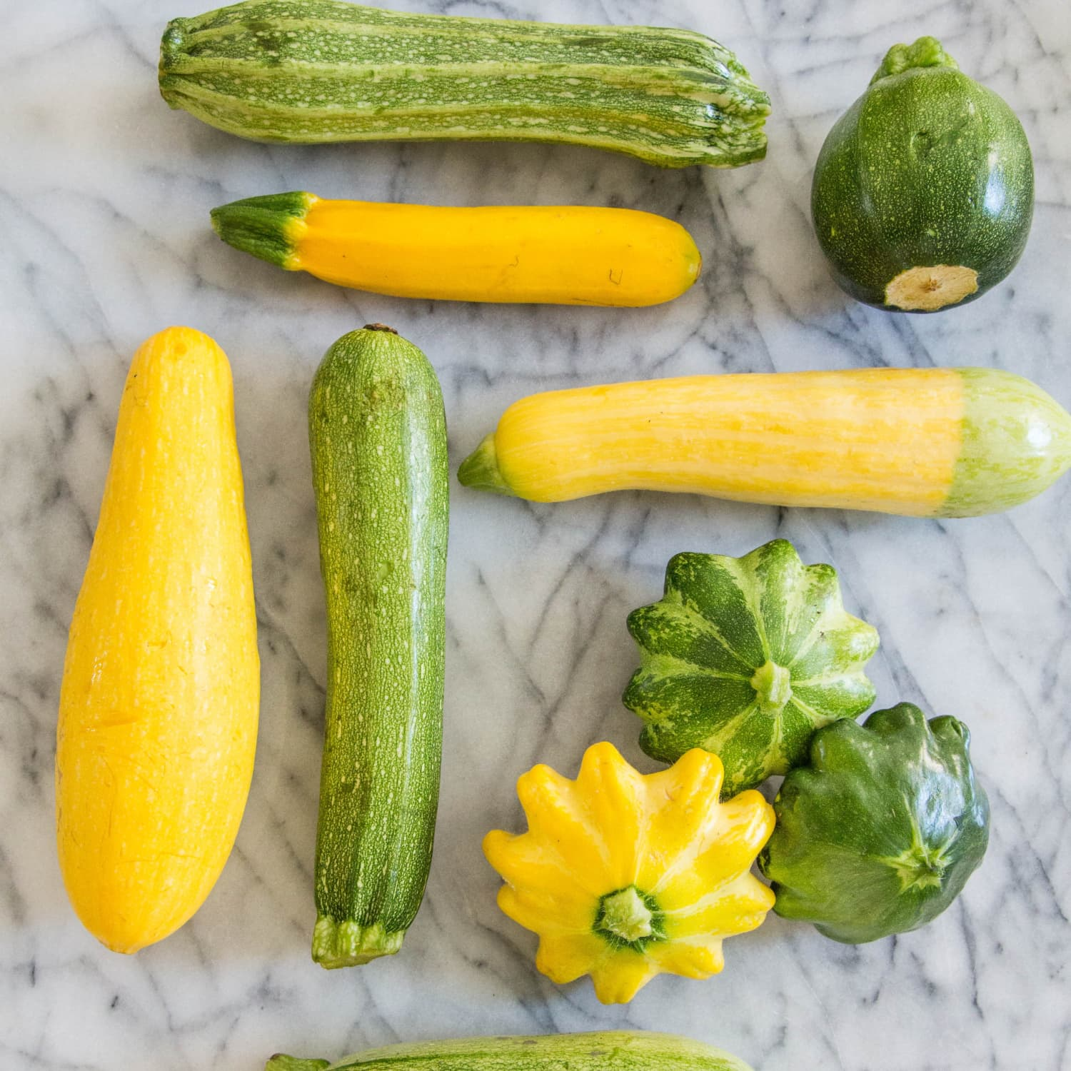 A Visual Guide To 8 Varieties Of Summer Squash Kitchn