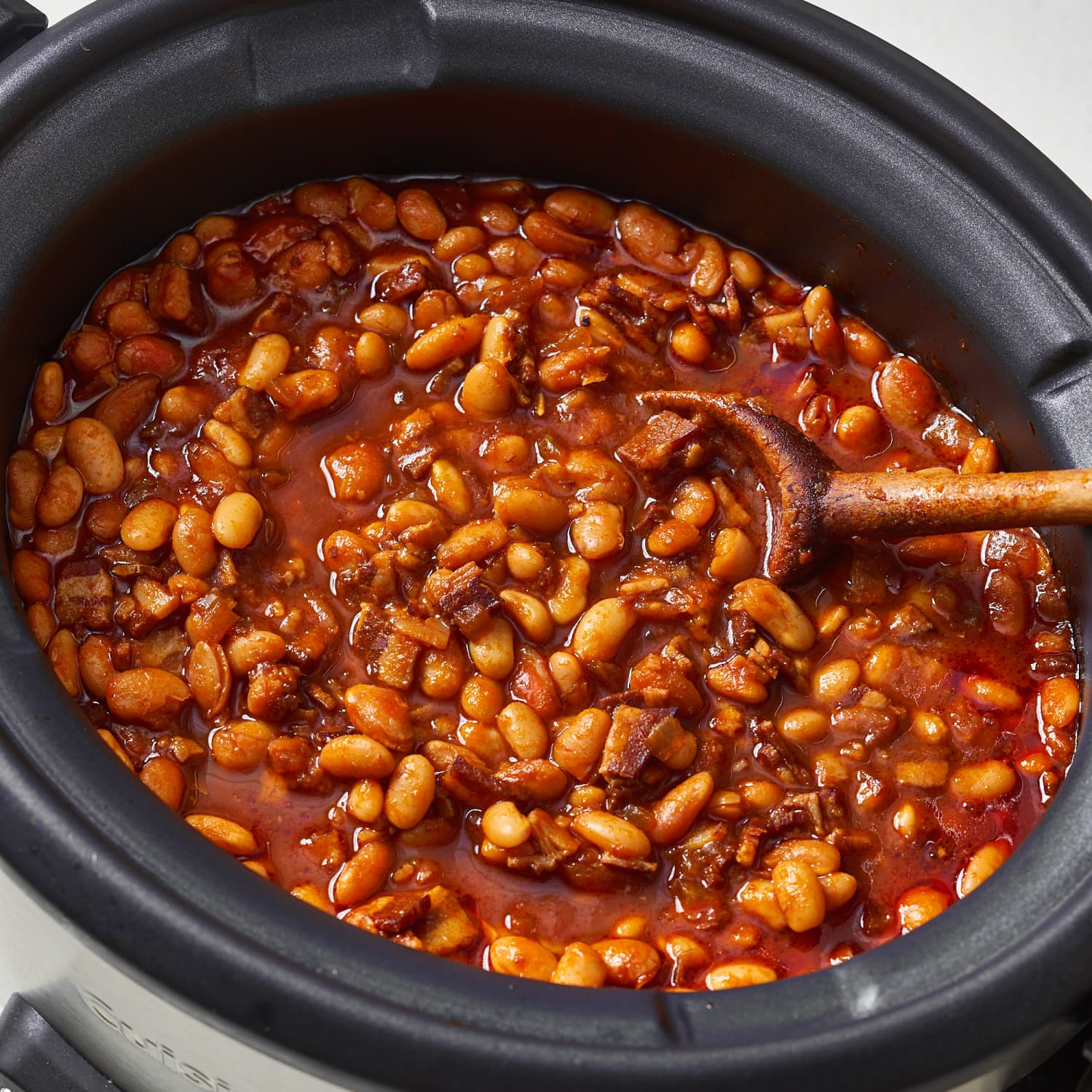 Slow Cooker Baked Beans Kitchn