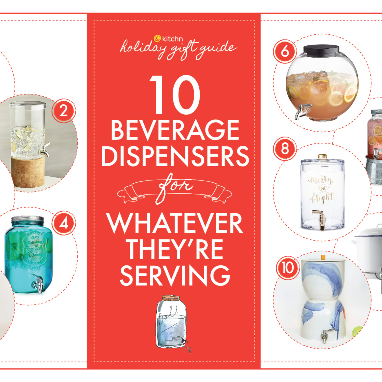 10 Beverage Dispensers To Gift To Your Favorite Party Host Kitchn