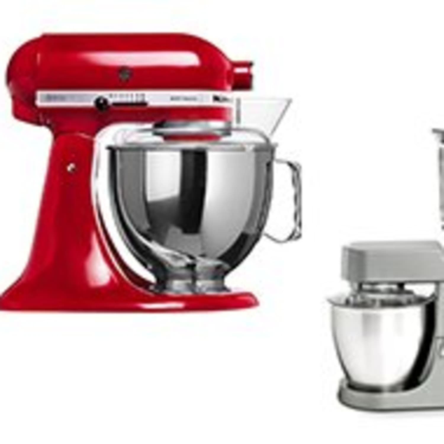Should I Buy A Kitchenaid Or A Kenwood Stand Mixer Kitchn