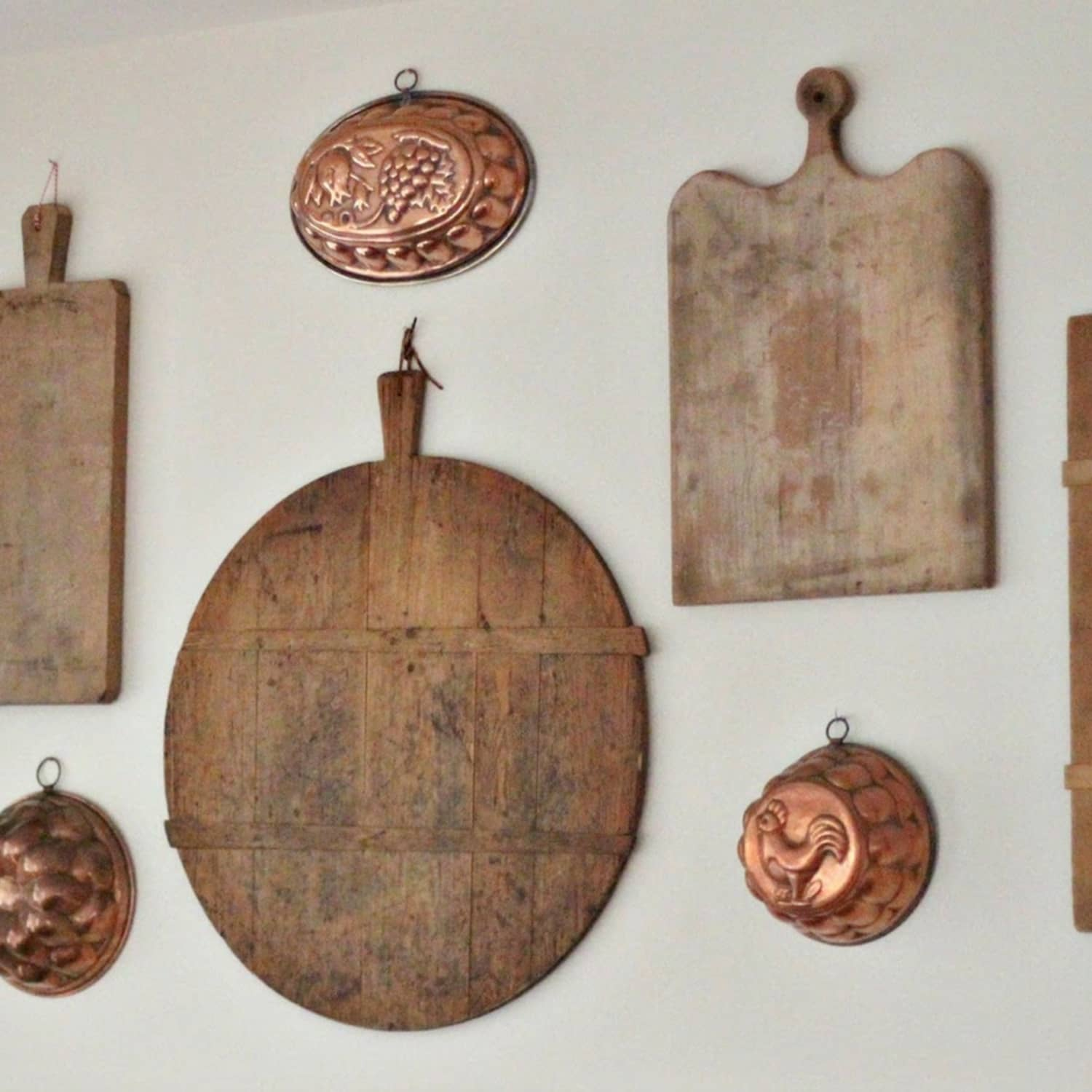 Use Old Cutting Boards To Build A Gallery Wall Kitchn