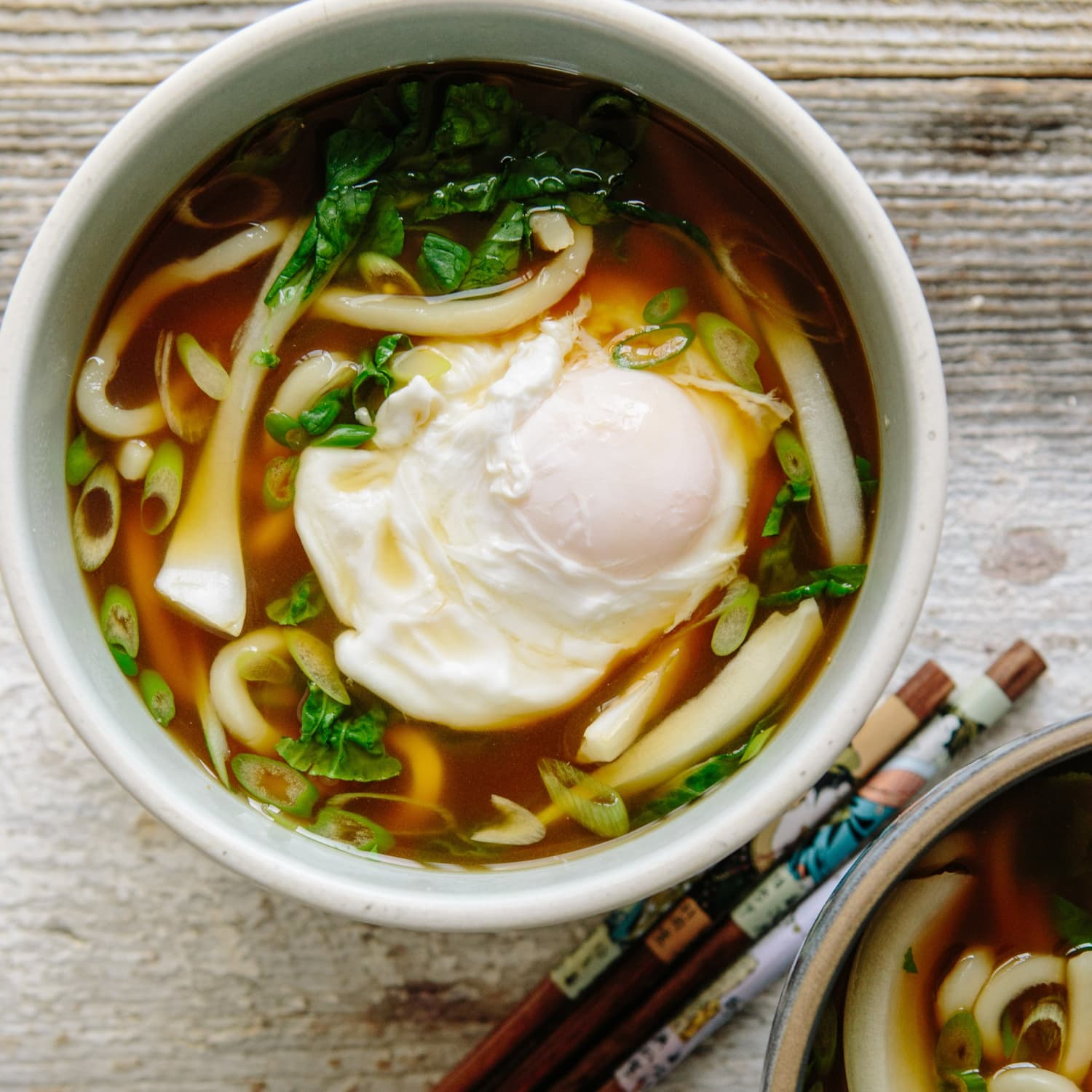 Recipe Udon Soup With Bok Choy And Poached Egg Kitchn