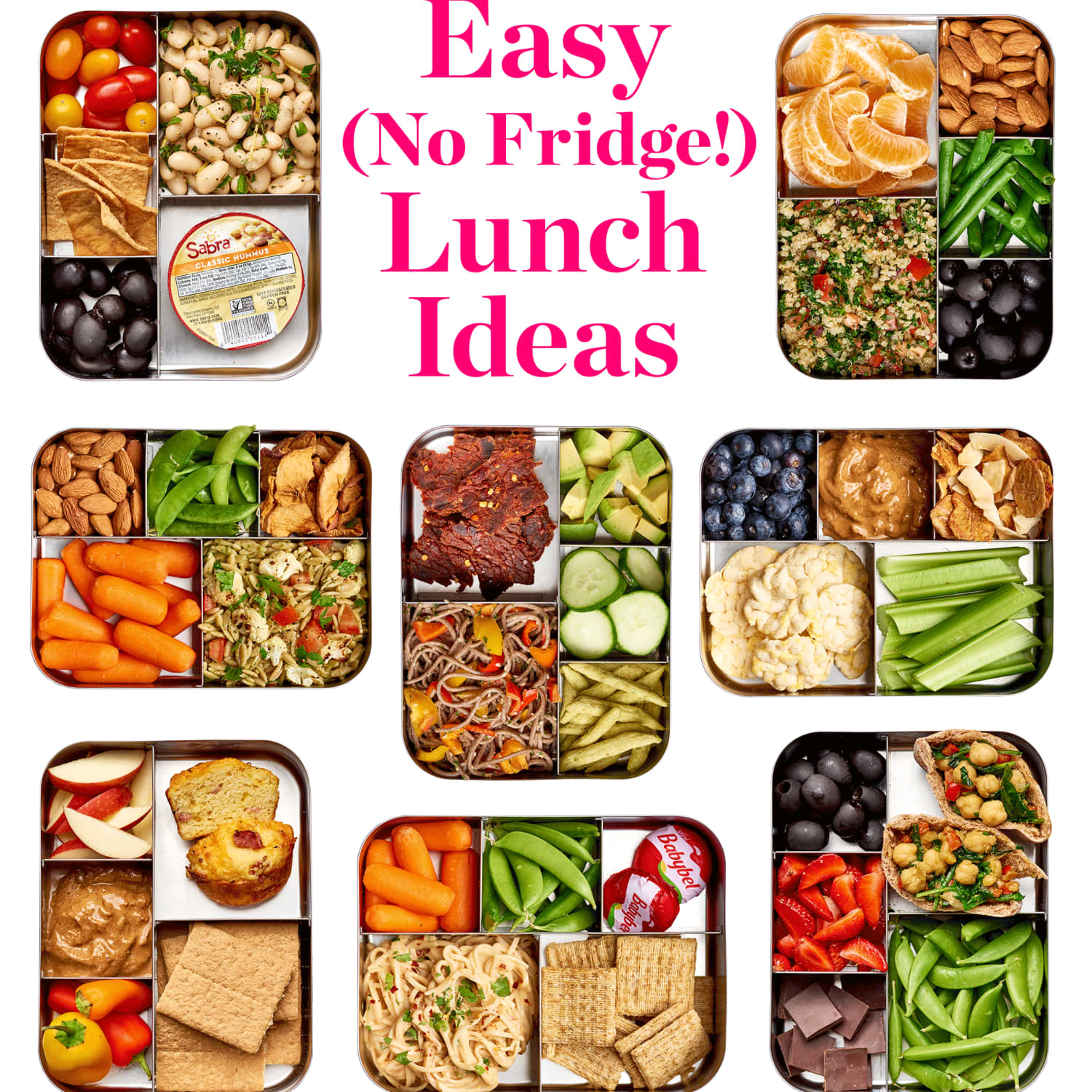 Easy No-Refrigerate Lunch Ideas | Kitchn