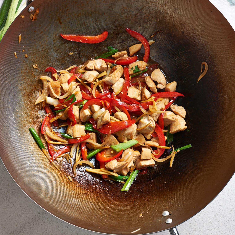 Thai Ginger Chicken Stir Fry Kitchn