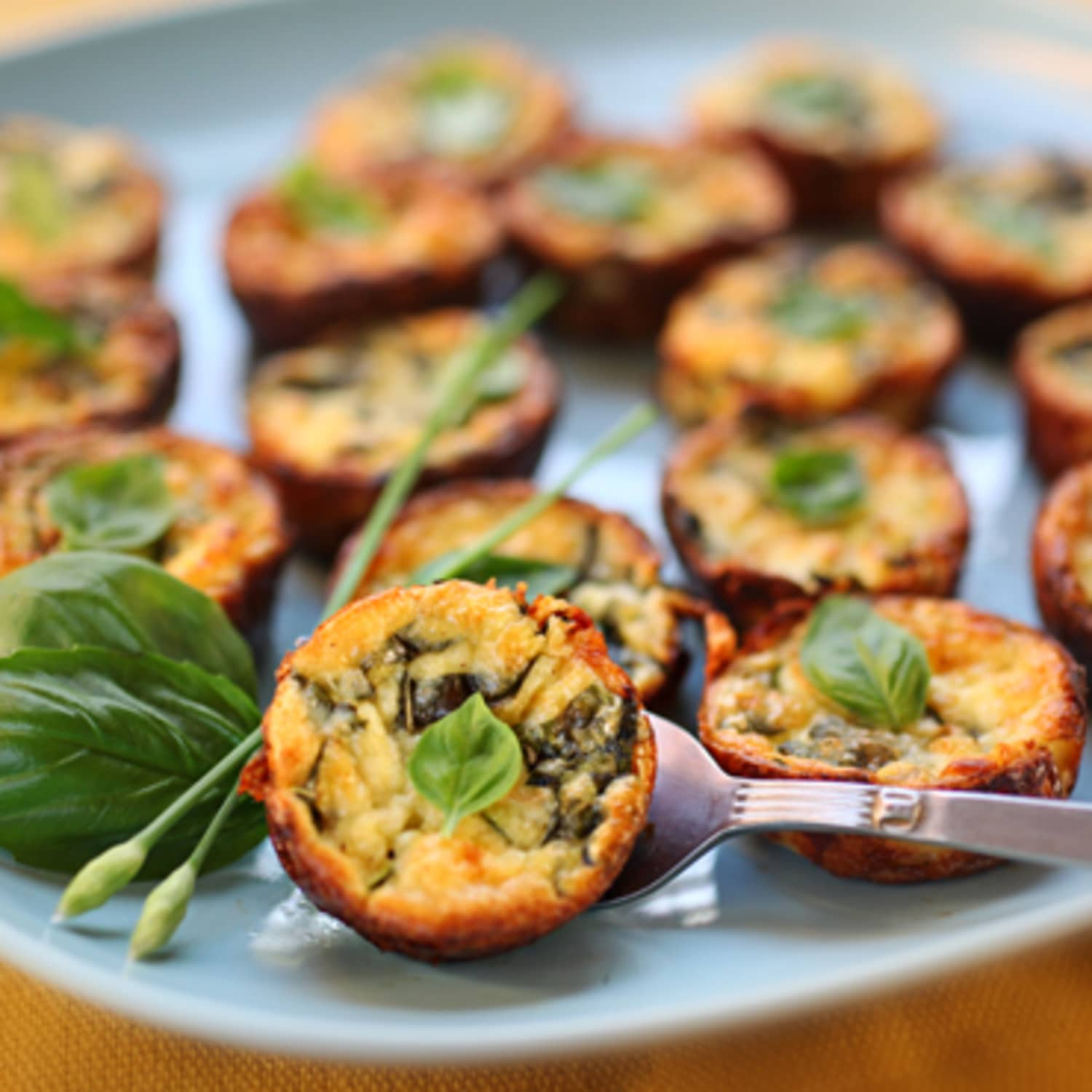 Make Ahead Recipe Crustless Mini Quiches Kitchn