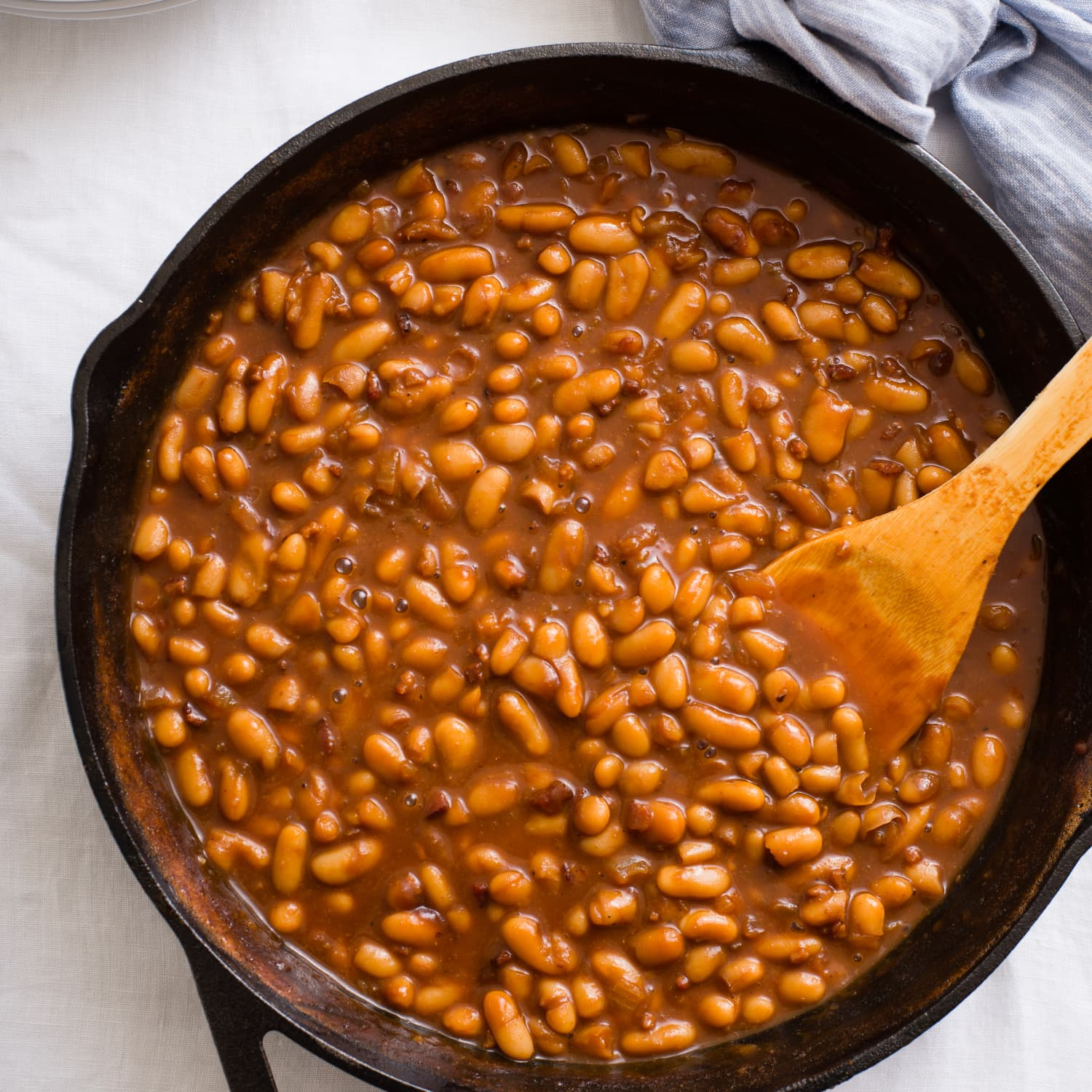 Fast and Fancy Pork and Beans   Kitchn
