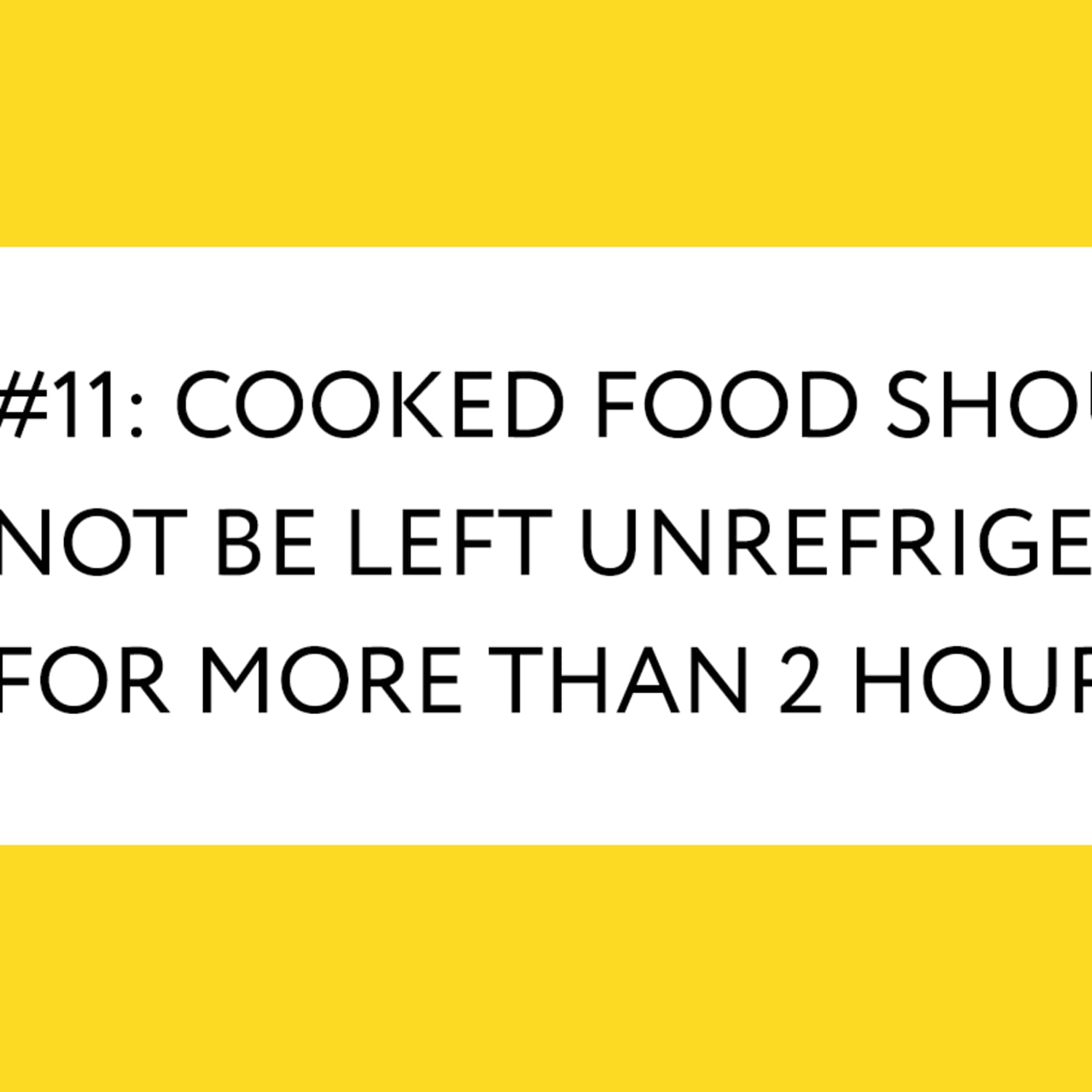 How Long It S Safe To Leave Food Unrefrigerated Kitchn