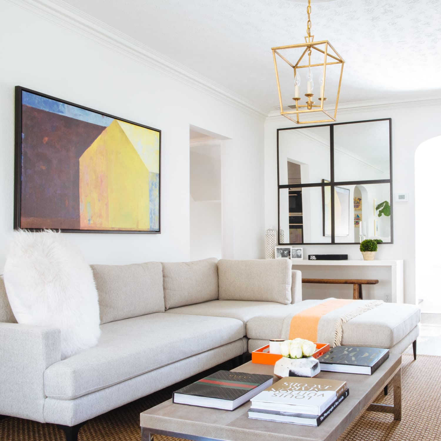 How To Get A High End Living Room Look On Budget Apartment Therapy