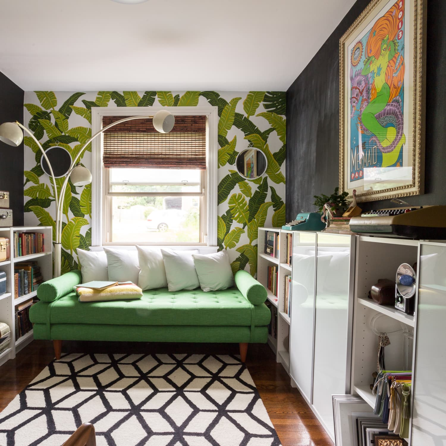 How To Decorate A Small Space With Wallpaper Apartment Therapy