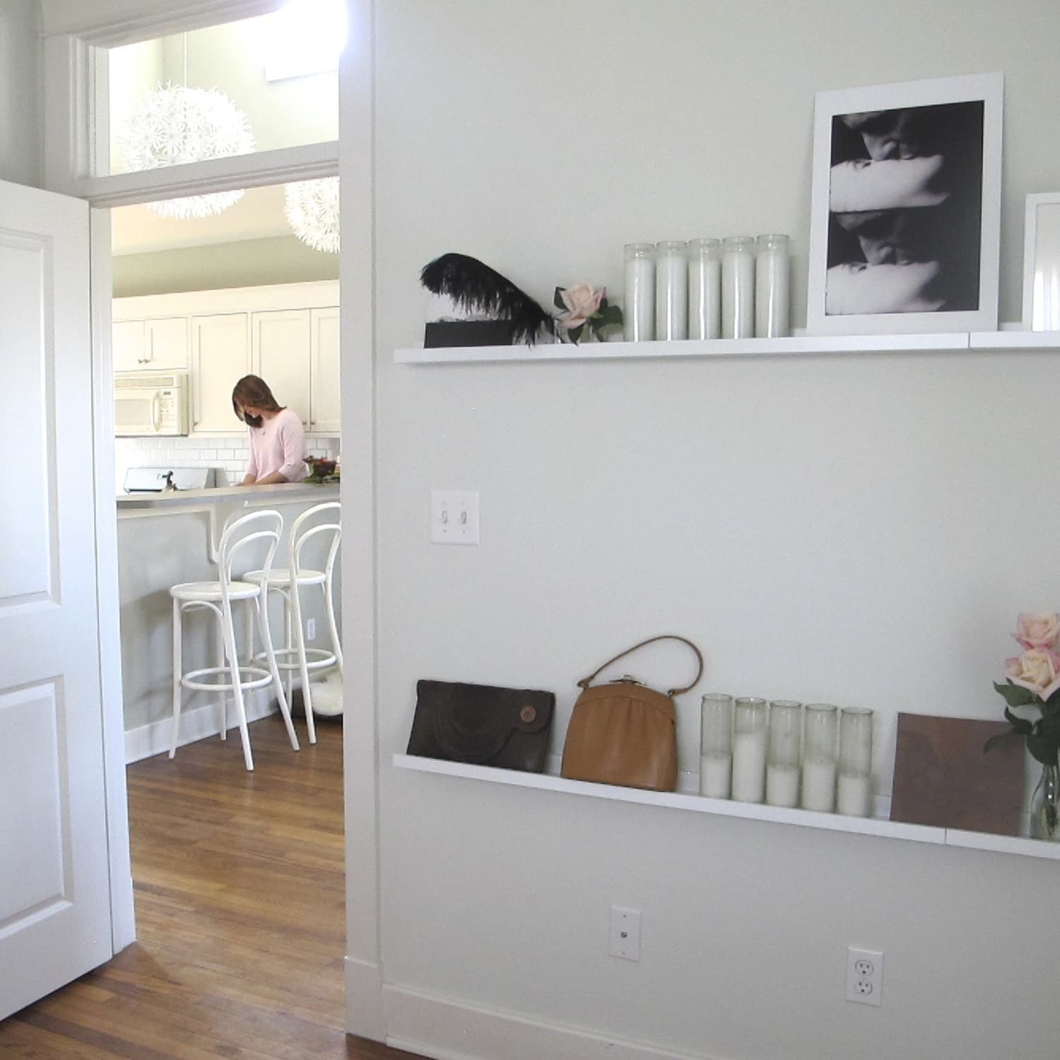 How To Decorate With Ikea S Floating Picture Shelves Apartment Therapy