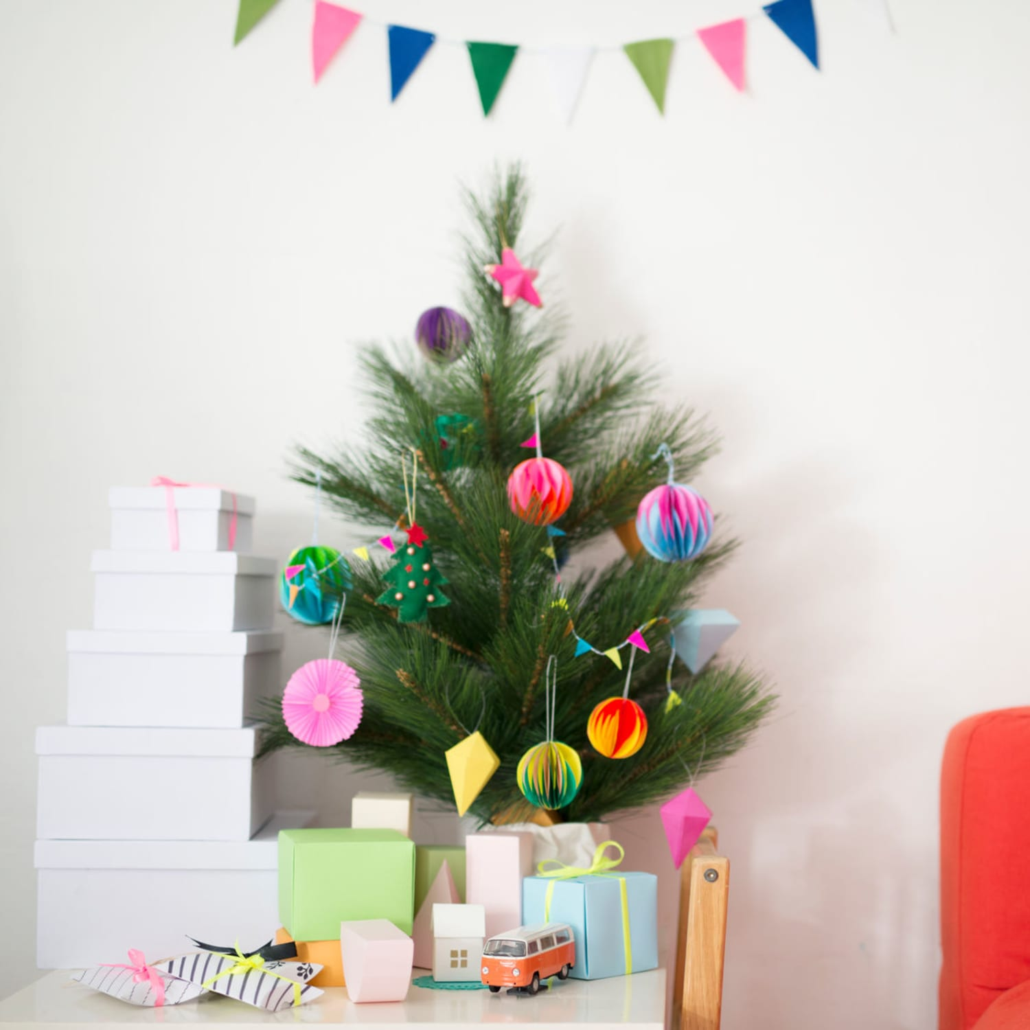 Faux Christmas Trees For Your Small Apartment Apartment Therapy