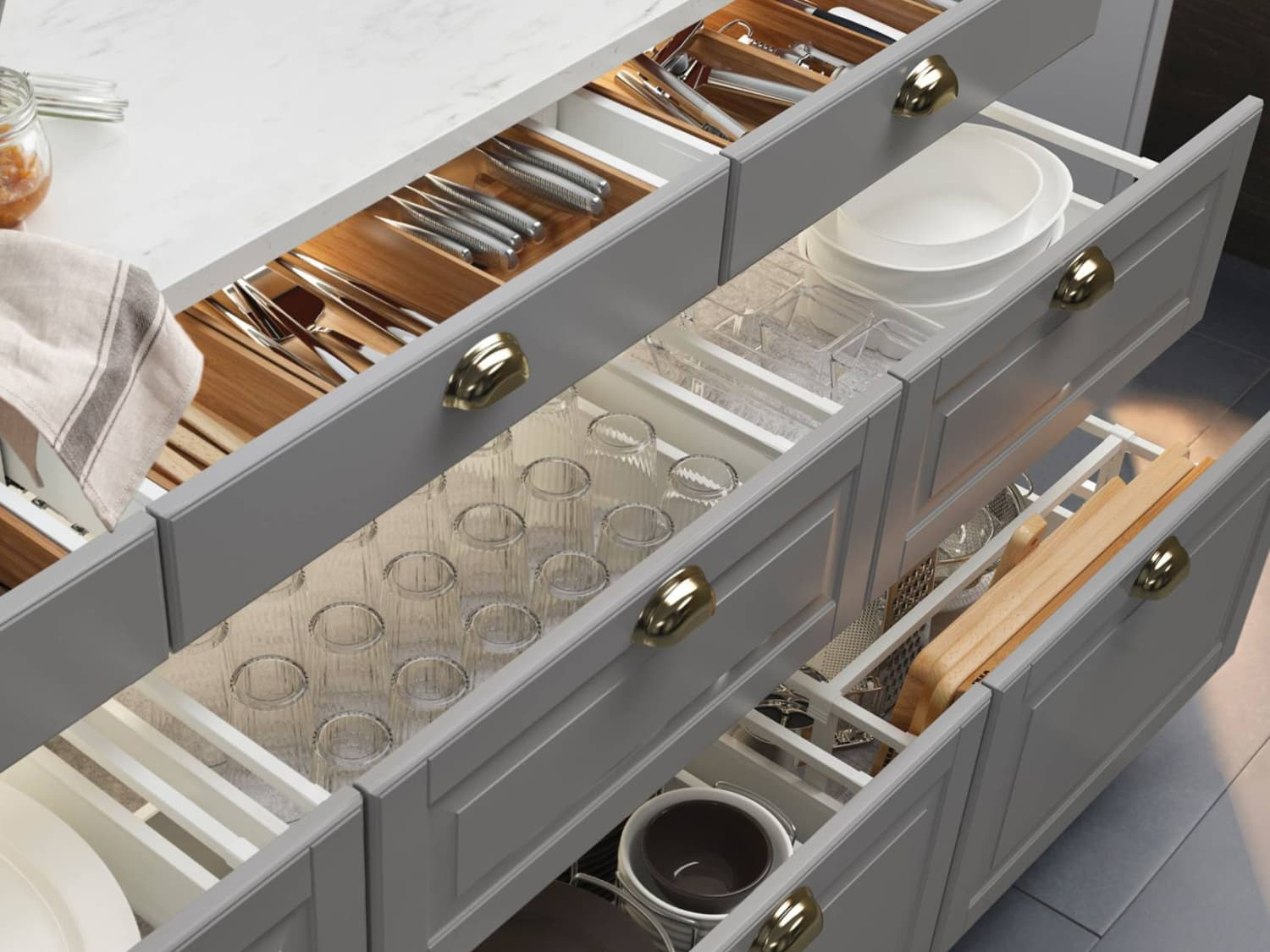 deep kitchen drawers vs cabinets Kitchen Cabinets Versus Drawers - Pros, Cons  Apartment Therapy