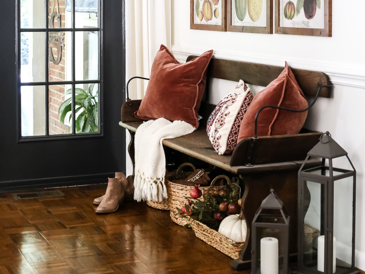 Fall Foyer Decorating Ideas Apartment Therapy