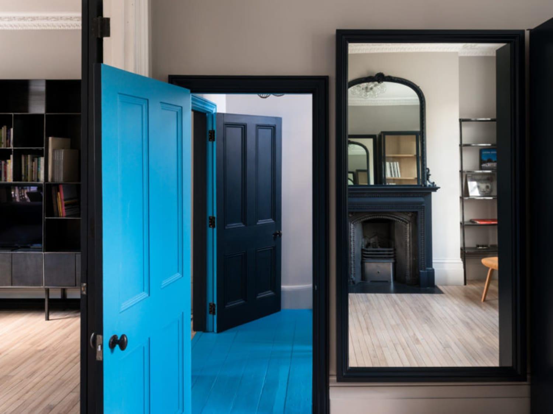 Unique Paint Ideas Colors Doors Trim Apartment Therapy
