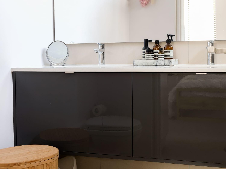 Frameless Bathroom Mirror Ideas Easy Budget Upgrades Apartment Therapy