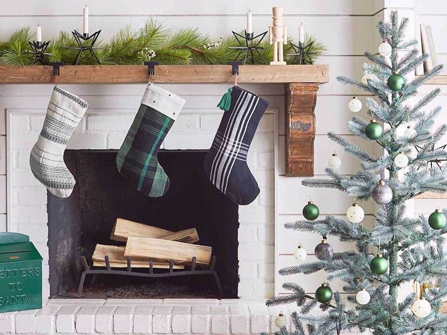 Stocking Hanging Ideas No Fireplace Apartment Therapy