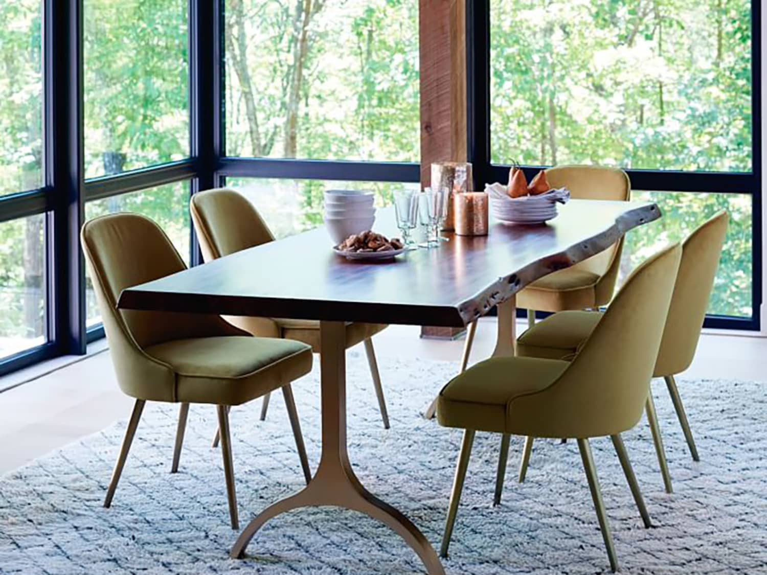 Low Medium High Upholstered Dining Chairs For Any Budget Apartment Therapy