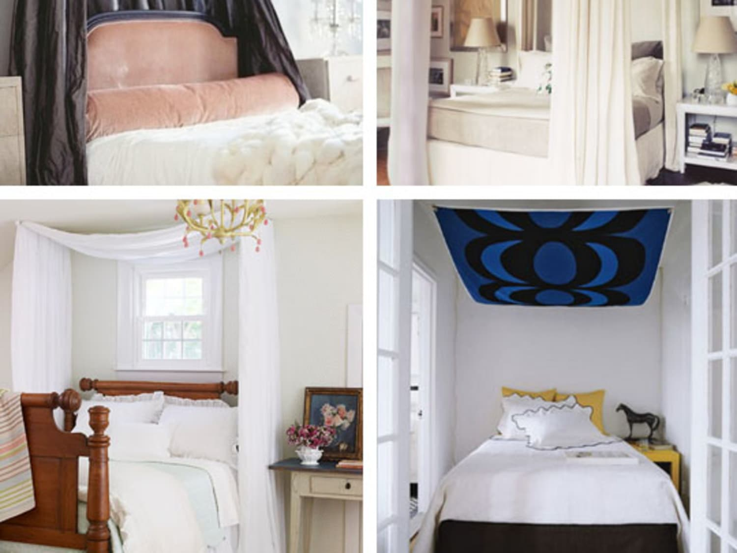 - DIY Ideas For Getting The Look Of A Canopy Bed Without Buying A