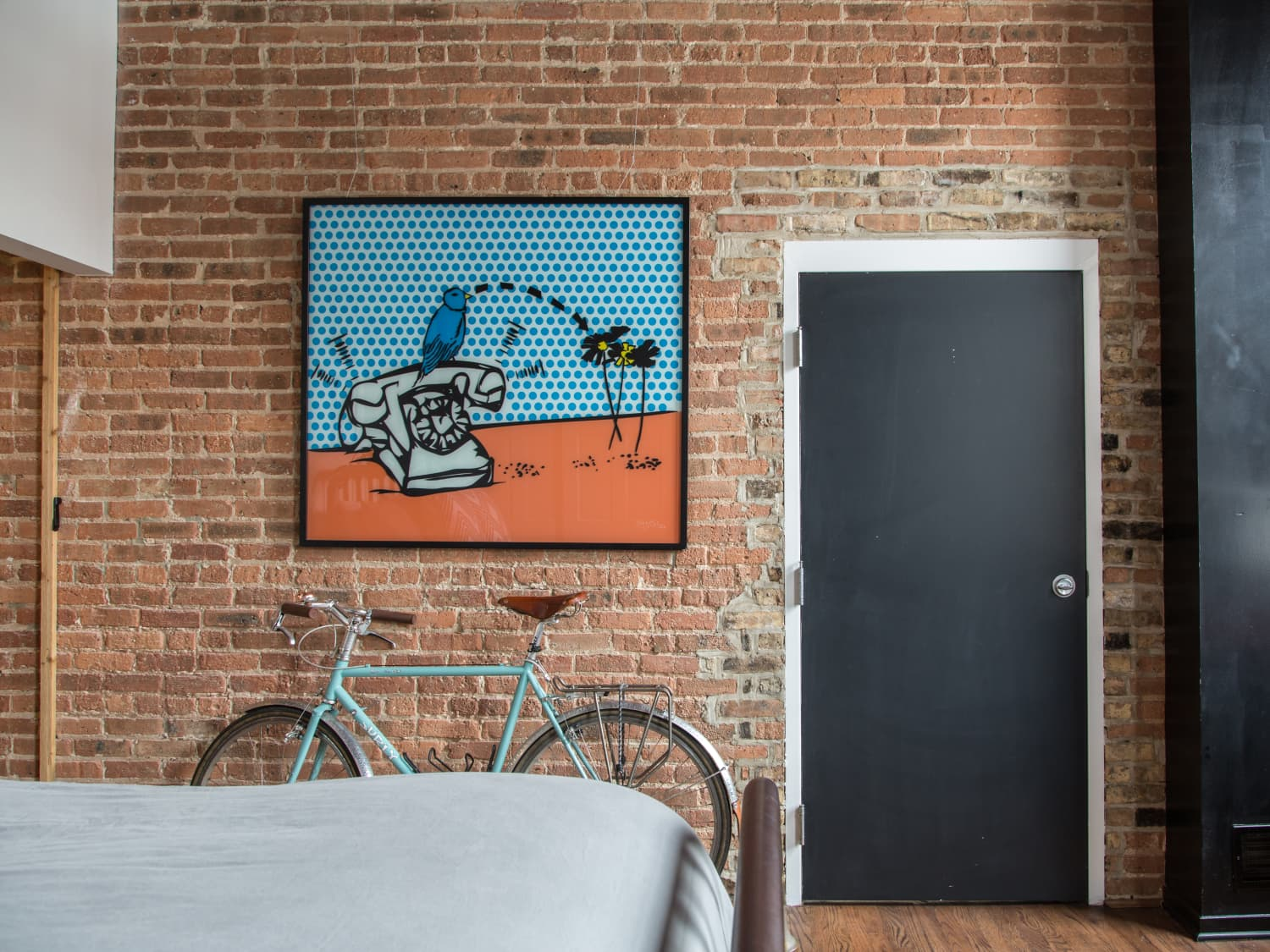 How To Dress Up Boring Interior Doors Apartment Therapy