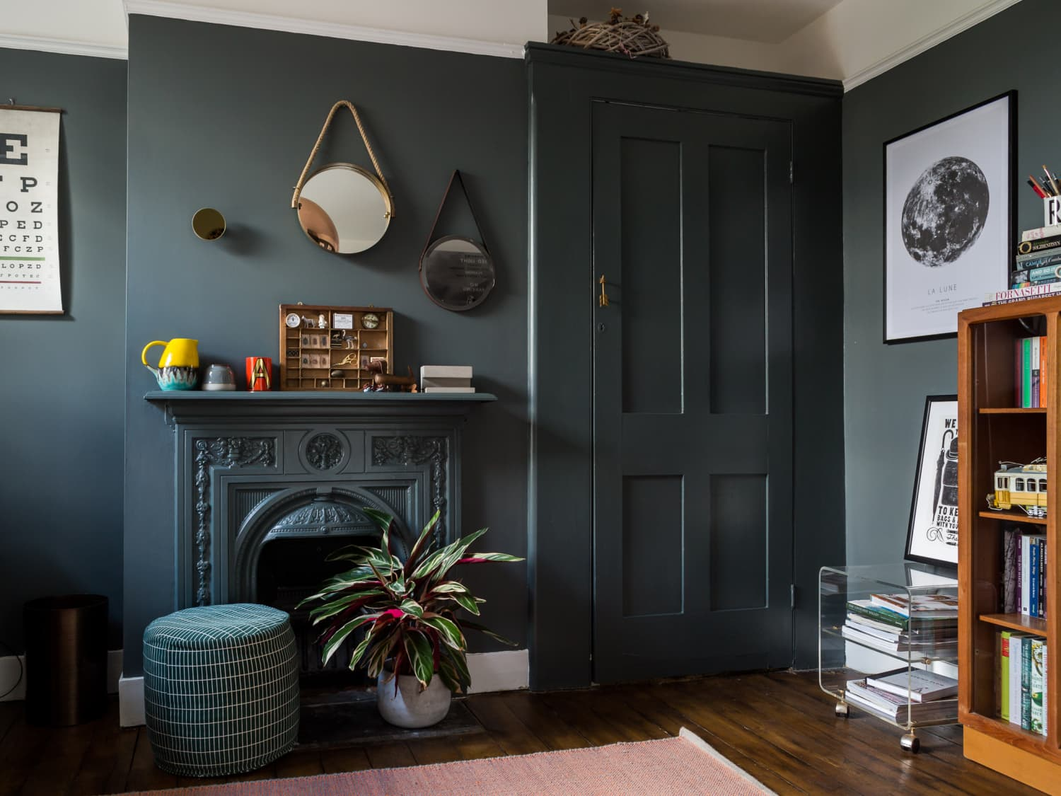 6 No Fail Tips For Painting With Dark Colors Apartment Therapy