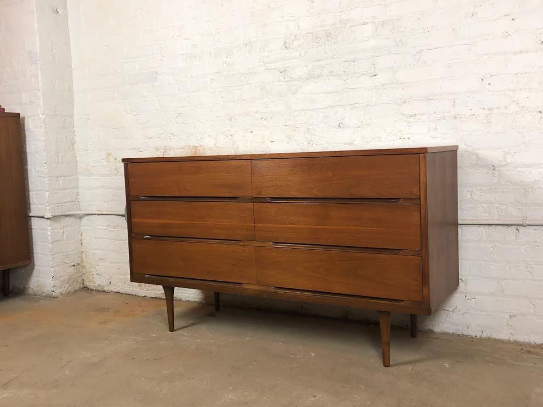 SALE Mid century dresser mid century modern walnut dresser mid century credenza
