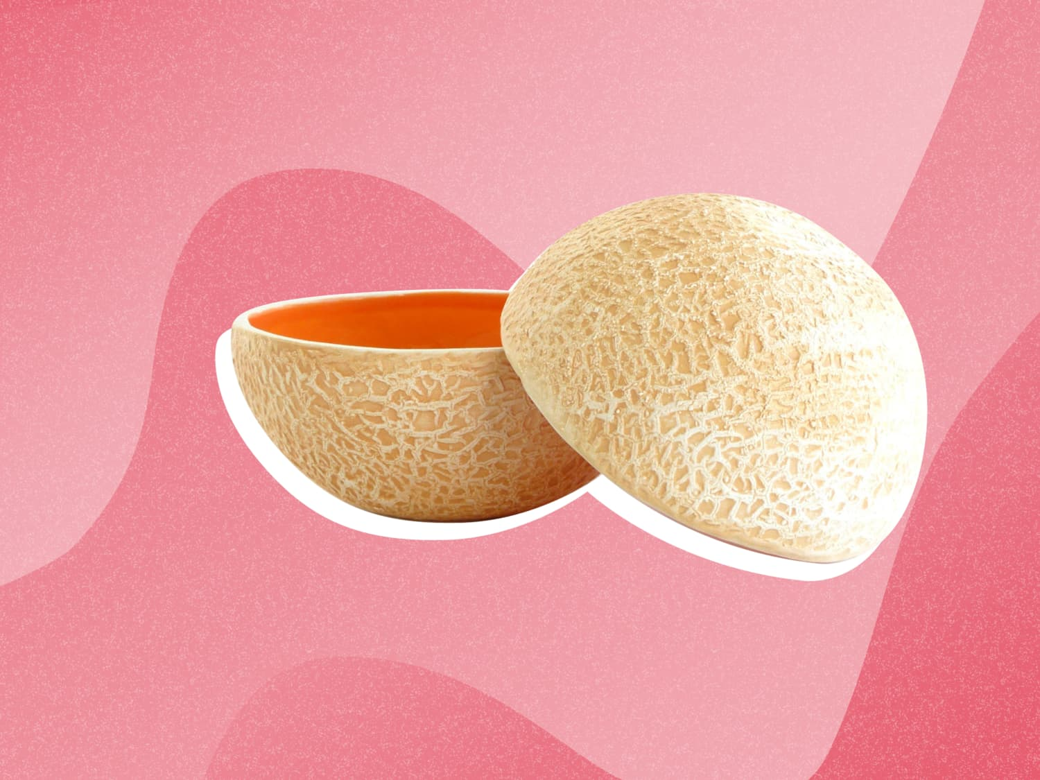 Cantaloupe Bowl / Pour into bowl or glass and garnish.