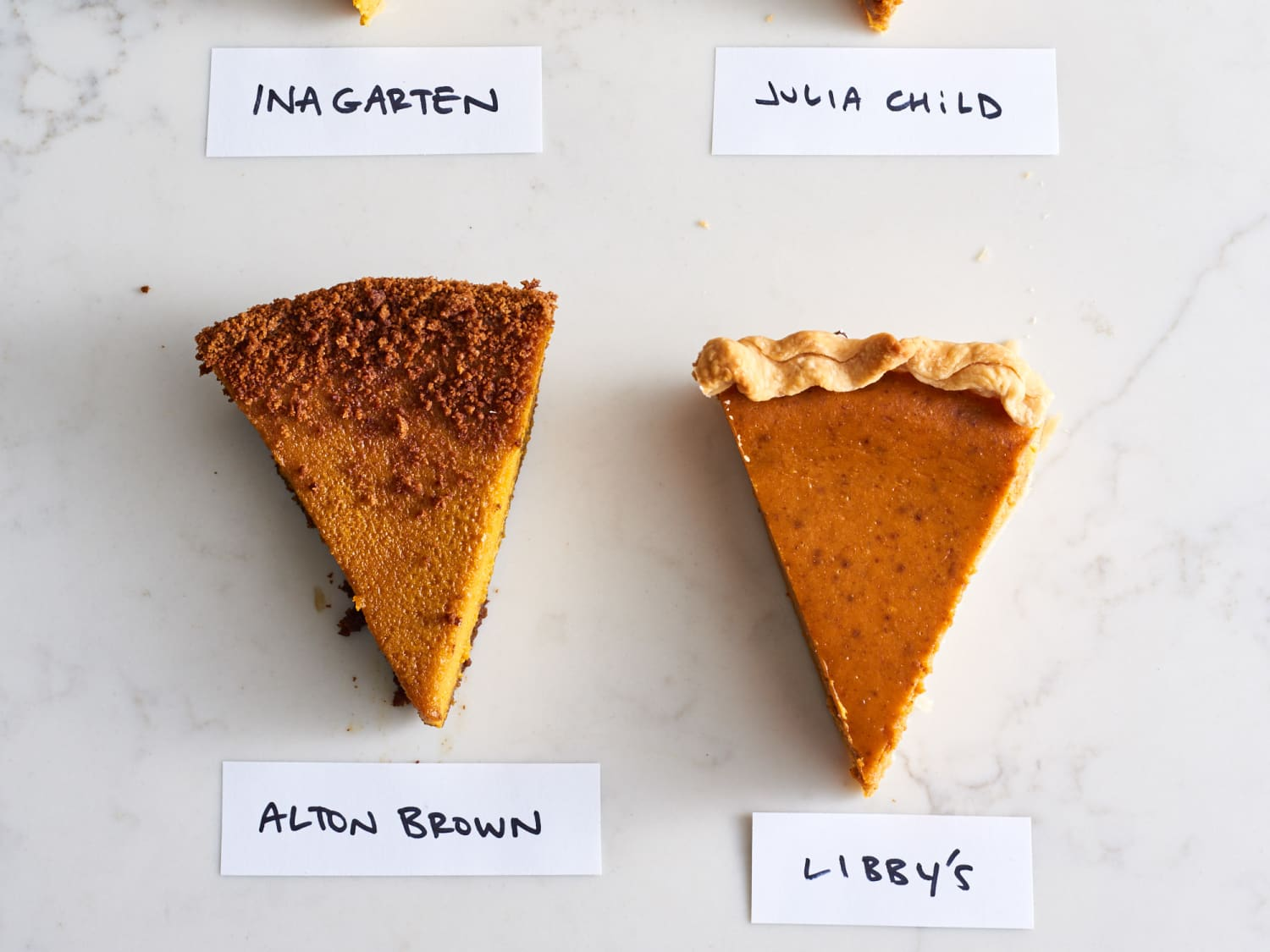 We Tested 4 Famous Pumpkin Pie Recipes And Here S The Winner Kitchn
