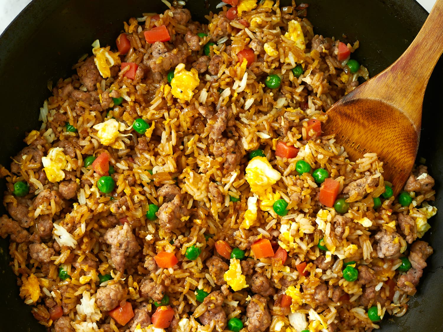 15 Minute Pork Fried Rice Kitchn