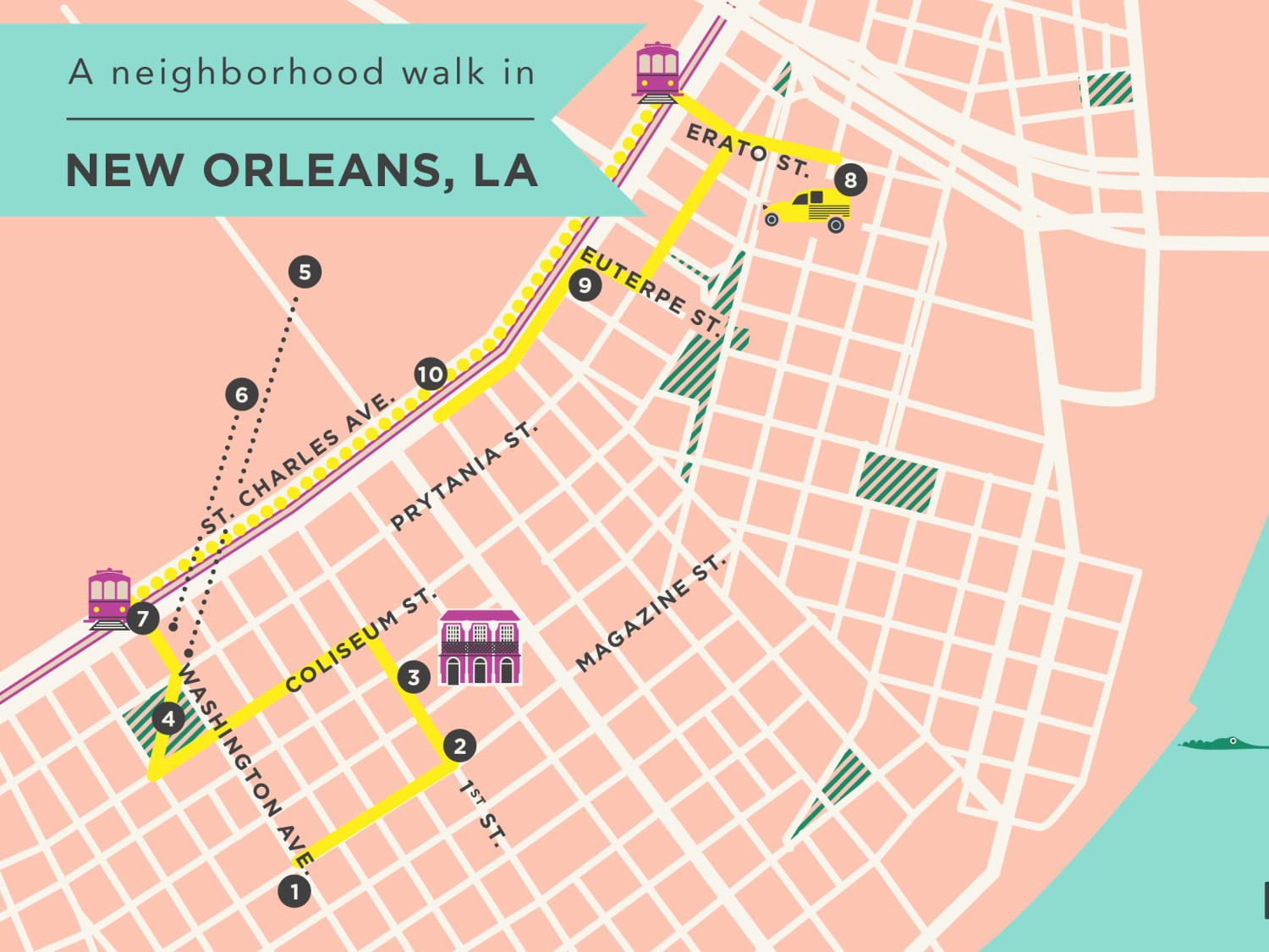 A Neighborhood Walk In New Orleans The Garden District Kitchn