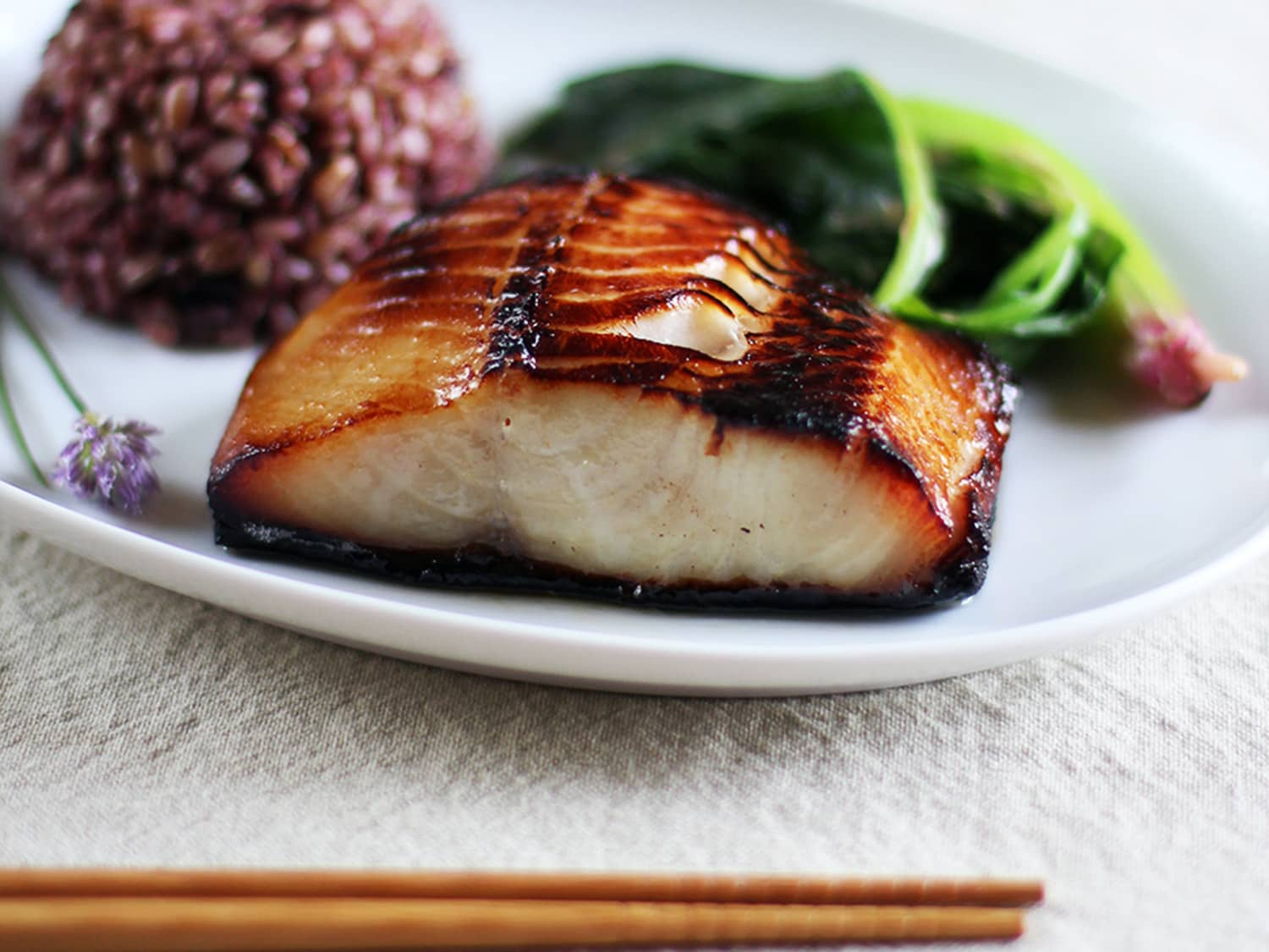 Recipe Nobu S Miso Marinated Black Cod Kitchn