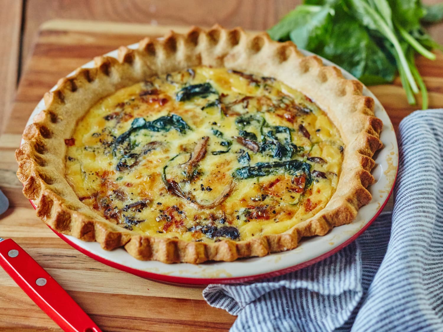 How To Make A Foolproof Quiche Kitchn