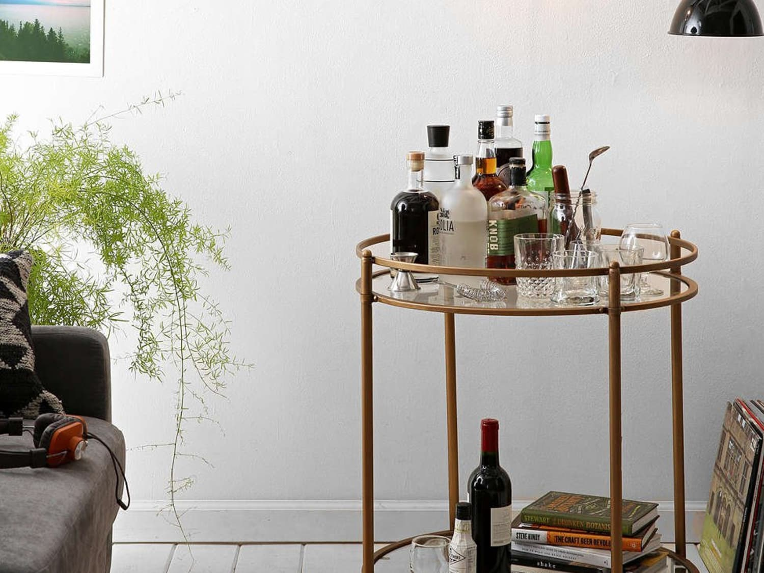 11 Handsome Bar Carts That Will Keep The Party Rolling Kitchn