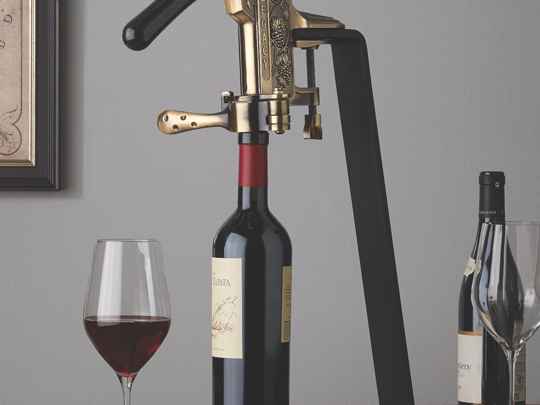 Lever Wine Opener Corkscrew Set eBook WineGuide Vinabon Wine Opener Set Premium 2019 All-In-One Wine Bottle Opener Kit Cute Rabbit Manual Wine Cork Remover Set for Women Men Wine Opener Kit