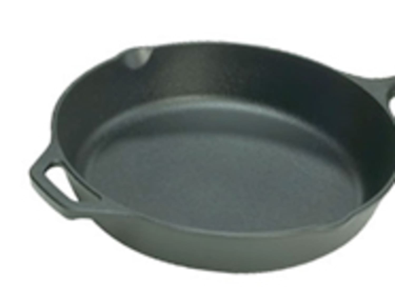 Buckingham Large Pre-Seasoned Cast Iron Frying Pan Skillet