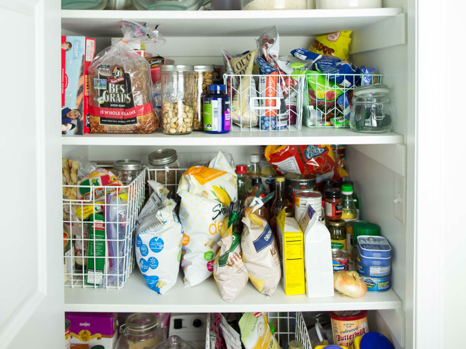 7 Tips For Organizing The Top Shelves Of Your Pantry Kitchn