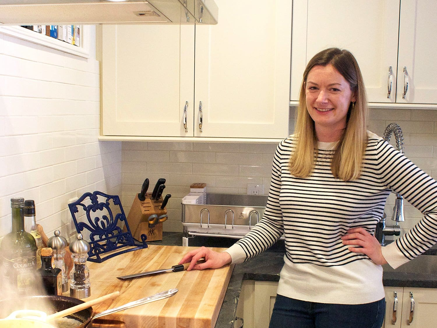How I Cook How Abby Cleans And Maintains Her Huge Chopping Board Kitchn